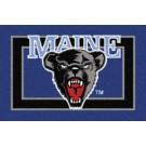 """Maine Black Bears 2'8""""x 3'10"""" Team Spirit Area Rug"""