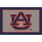 """Auburn Tigers """"AU"""" 7' 8"""" x 10' 9"""" Team Spirit Area Rug by"""