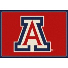 "Arizona Wildcats 7' 8"" x 10' 9"" Team Spirit Area Rug by"