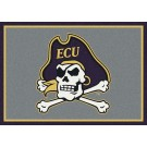"East Carolina Pirates 7' 8"" x 10' 9"" Team Spirit Area Rug by"