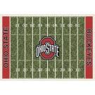 "Ohio State Buckeyes 5' 4"" x 7' 8"" NCAA Home Field Area Rug"