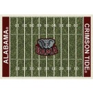 "Alabama Crimson Tide 5' 4"" x 7' 8"" NCAA Home Field Area Rug"