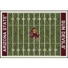 "Arizona State Sun Devils 7' 8"" x 10' 9"" NCAA Home Field Area Rug by"