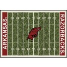 "Arkansas Razorbacks 5' 4"" x 7' 8"" NCAA Home Field Area Rug"