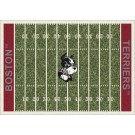 "Boston Terriers 5' 4"" x 7' 8"" NCAA Home Field Area Rug"