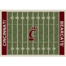 "Cincinnati Bearcats 7' 8"" x 10' 9"" NCAA Home Field Area Rug by"