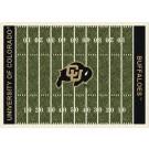 "Colorado Buffaloes 7' 8"" x 10' 9"" NCAA Home Field Area Rug by"