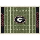 "Georgia Bulldogs 5' 4"" x 7' 8"" NCAA Home Field Area Rug"