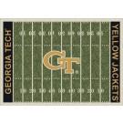"Georgia Tech Yellow Jackets 7' 8"" x 10' 9"" NCAA Home Field Area Rug by"