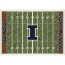"Illinois Fighting Illini 7' 8"" x 10' 9"" NCAA Home Field Area Rug"