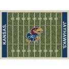 "Kansas Jayhawks 7' 8"" x 10' 9"" NCAA Home Field Area Rug by"