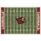 """Louisville Cardinals 7' 8"""" x 10' 9"""" NCAA Home Field Area Rug by"""