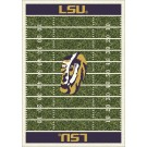 "Louisiana State (LSU) Tigers 7' 8"" x 10' 9"" NCAA Home Field Area Rug by"