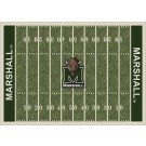 "Marshall Thundering Herd 7' 8"" x 10' 9"" NCAA Home Field Area Rug by"
