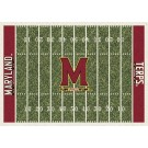 "Maryland Terrapins 7' 8"" x 10' 9"" NCAA Home Field Area Rug by"