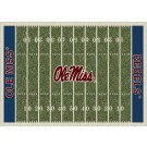 "Mississippi (Ole Miss) Rebels 5' 4"" x 7' 8"" NCAA Home Field Area Rug"