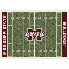 "Mississippi State Bulldogs 7' 8"" x 10' 9"" NCAA Home Field Area Rug by"