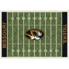"Missouri Tigers 7' 8"" x 10' 9"" NCAA Home Field Area Rug by"