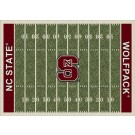 "North Carolina State Wolfpack 7' 8"" x 10' 9"" NCAA Home Field Area Rug by"