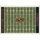 "Oklahoma State Cowboys 7' 8"" x 10' 9"" NCAA Home Field Area Rug by"