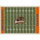 "Oregon State Beavers 7' 8"" x 10' 9"" NCAA Home Field Area Rug by"