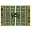 """Pittsburgh Panthers 7' 8"""" x 10' 9"""" NCAA Home Field Area Rug by"""