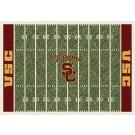 "USC Trojans 7' 8"" x 10' 9"" NCAA Home Field Area Rug by"