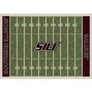 "Southern Illinois Salukis 5' 4"" x 7' 8"" NCAA Home Field Area Rug"