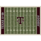 "Texas A & M Aggies 7' 8"" x 10' 9"" NCAA Home Field Area Rug"