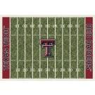 "Texas Tech Red Raiders 7' 8"" x 10' 9"" NCAA Home Field Area Rug by"