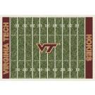 "Virginia Tech Hokies 7' 8"" x 10' 9"" NCAA Home Field Area Rug by"