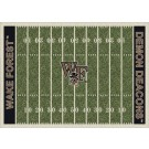 "Wake Forest Demon Deacons 7' 8"" x 10' 9"" NCAA Home Field Area Rug by"