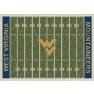 "West Virginia Mountaineers 7' 8"" x 10' 9"" NCAA Home Field Area Rug by"