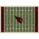 "Arizona Cardinals 7' 8"" x 10' 9"" NFL Home Field Area Rug by"