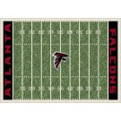 "Atlanta Falcons 7' 8"" x 10' 9"" NFL Home Field Area Rug by"