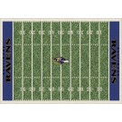 "Baltimore Ravens 7' 8"" x 10' 9"" NFL Home Field Area Rug by"