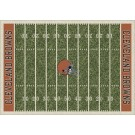 "Cleveland Browns 5' 4"" x 7' 8"" NFL Home Field Area Rug"