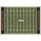 "Denver Broncos 5' 4"" x 7' 8"" NFL Home Field Area Rug"