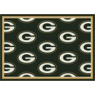 "Green Bay Packers 5' 4"" x 7' 8"" Team Repeat Area Rug (Green)"