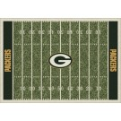 "Green Bay Packers 5' 4"" x 7' 8"" NFL Home Field Area Rug"