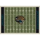 "Jacksonville Jaguars 7' 8"" x 10' 9"" NFL Home Field Area Rug by"