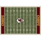 "Kansas City Chiefs 7' 8"" x 10' 9"" NFL Home Field Area Rug by"