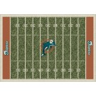 "Miami Dolphins 5' 4"" x 7' 8"" NFL Home Field Area Rug"