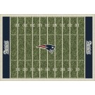 "New England Patriots 7' 8"" x 10' 9"" NFL Home Field Area Rug"