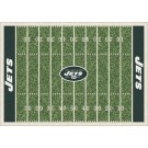 """New York Jets 5' 4"""" x 7' 8"""" NFL Home Field Area Rug"""