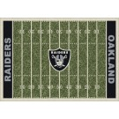 "Oakland Raiders 5' 4"" x 7' 8"" NFL Home Field Area Rug"