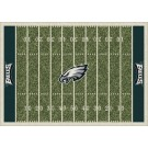 "Philadelphia Eagles 7' 8"" x 10' 9"" NFL Home Field Area Rug by"
