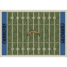 "San Diego Chargers 7' 8"" x 10' 9"" NFL Home Field Area Rug by"