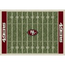 """San Francisco 49ers 7' 8"""" x 10' 9"""" NFL Home Field Area Rug by"""