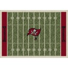 """Tampa Bay Buccaneers 7' 8"""" x 10' 9"""" NFL Home Field Area Rug by"""
